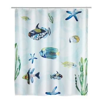 Perdea duș Wenko Aquaria, 180 x 200 cm imagine