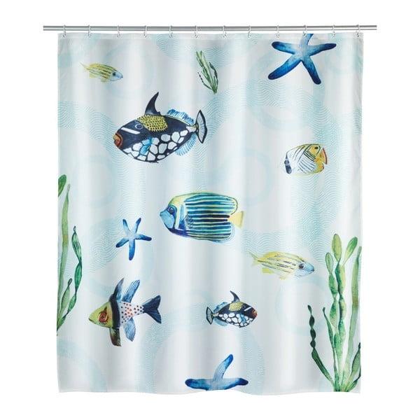 Perdea duș Wenko Aquaria, 180 x 200 cm