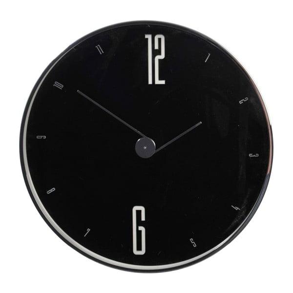 Nástěnné hodiny Numbers Black, 30x4,5 cm
