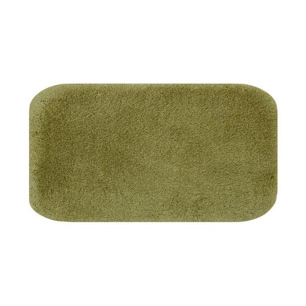 Zielony dywanik łazienkowy Confetti Miami, 67x120 cm