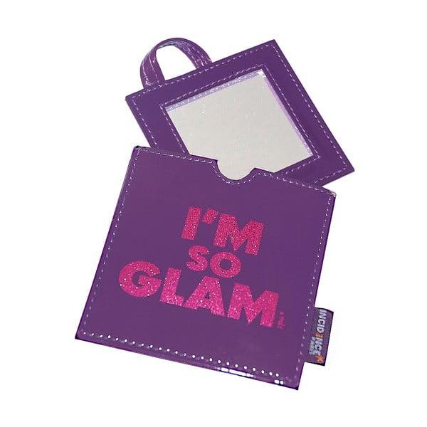 Kapesní zrcátko Glam Glittered