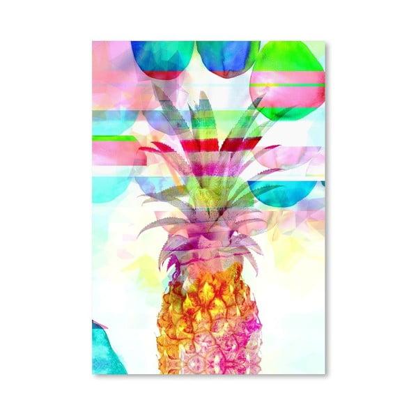Plakát Pineapple Pink
