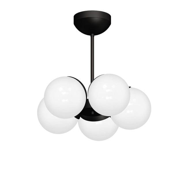Lustră Sphere Cinco, negru