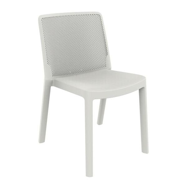 Sada 4 bílých zahradních židlí Resol Fresh Garden