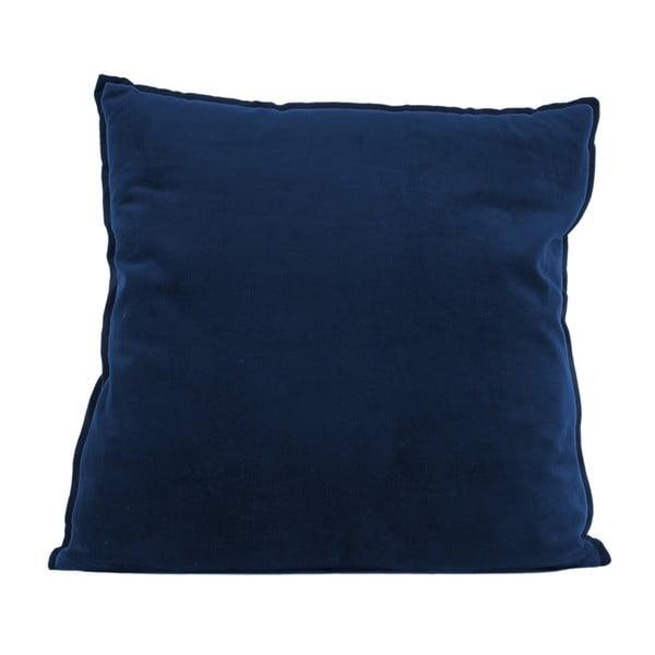 Pernă din bumbac PT LIVING, 60 x 60 cm, albastru