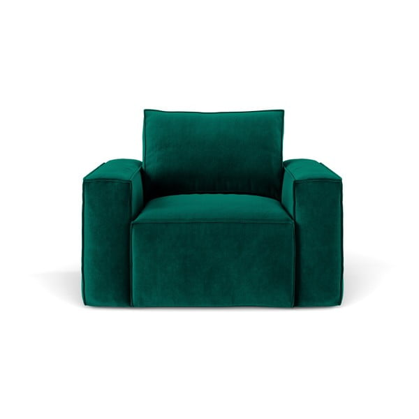 Tmavě zelené křeslo Cosmopolitan Design Florida