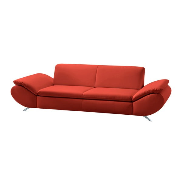 Canapea cu 3 locuri Max Winzer Marseille, roșu
