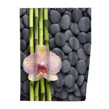 Perdea duș Wenko Zen, 180 x 200 cm imagine
