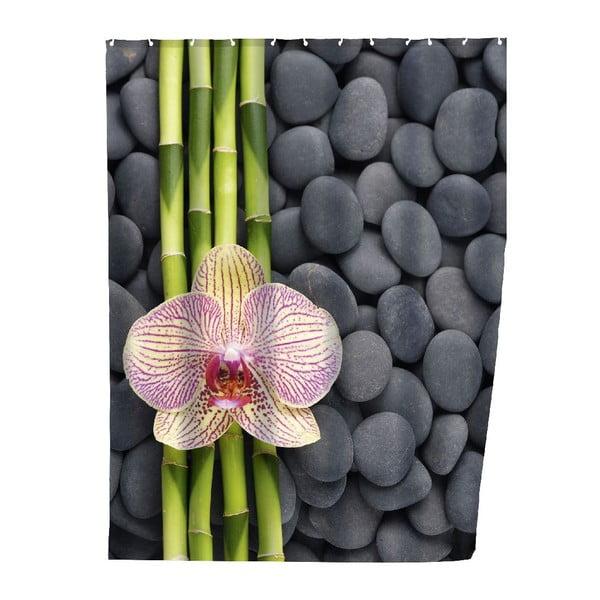 Perdea duș Wenko Zen, 180 x 200 cm