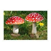 Sada 2 dekorací Boltze Mushroom