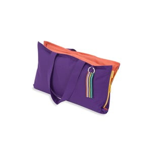 Skládací sedák Hhooboz 50x60 cm, fialový