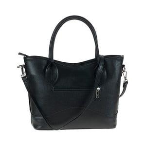 Černá kožená kabelka Tina Panicucci Baso
