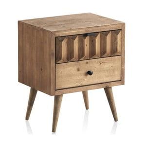 Noční stolek se 2 zásuvkami Geese Cape Town