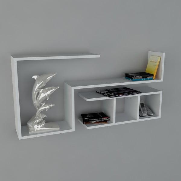 Police Finito Book White, 22x117x55,5 cm