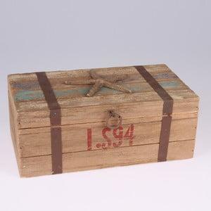 Dřevěná krabice Dakls Sea Star