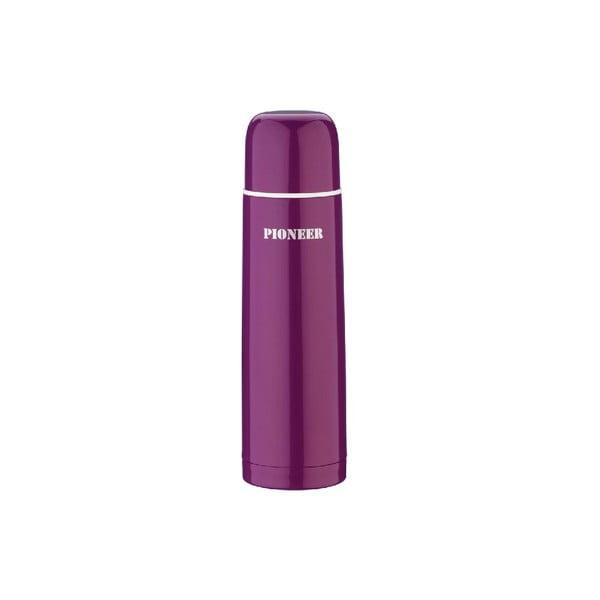 Fialová termoska Pioneer, 500 ml