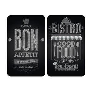 Sada 2 skleněných krytů na sporák Wenko Bon Appetit