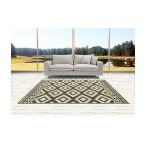 Zelený koberec DECO CARPET Verona, 160 x 230 cm