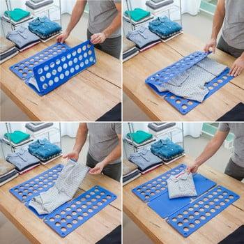 Împăturitor haine InnovaGoods, albastru imagine