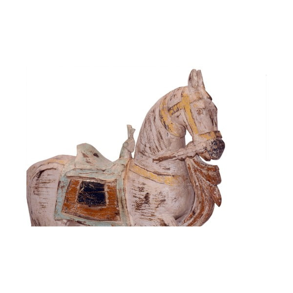 Teakový koník Boho, 70 cm
