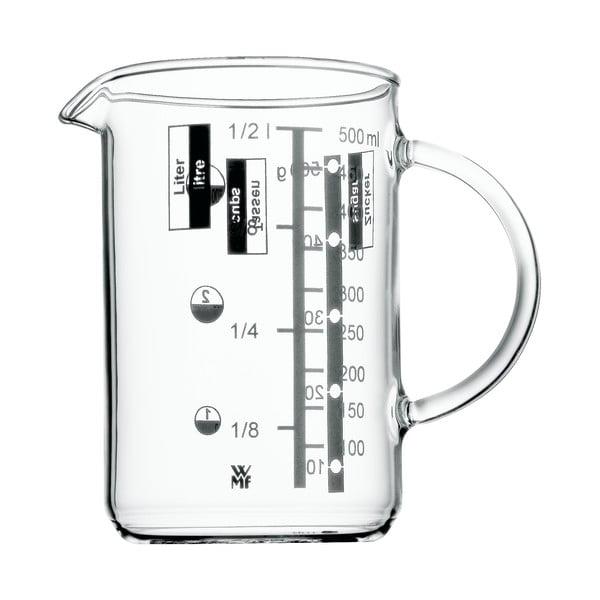 Cană gradată din sticlă WMF, 0,5 l
