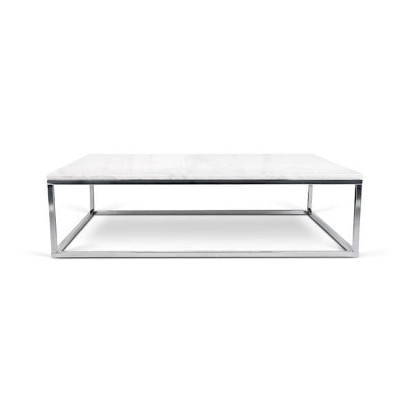 Bílý mramorový stolek TemaHome Prairie