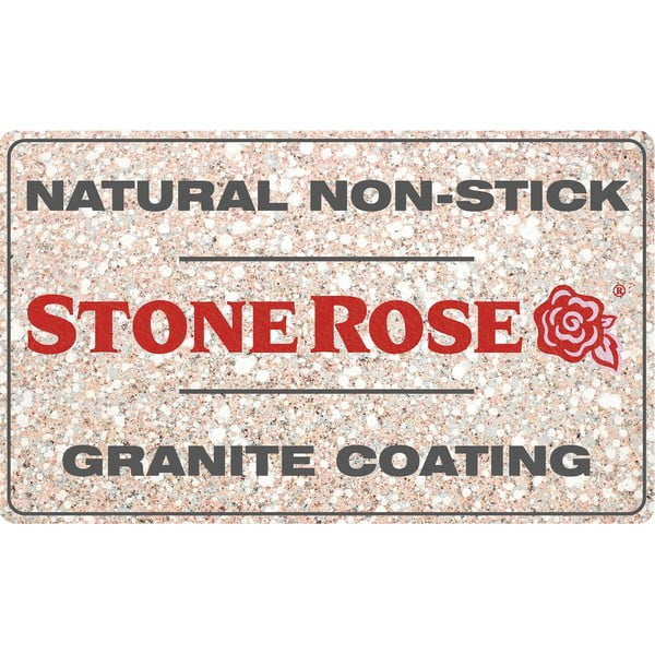 Pánev Bisetti Stonerose Rose Andrea, ø 24 cm