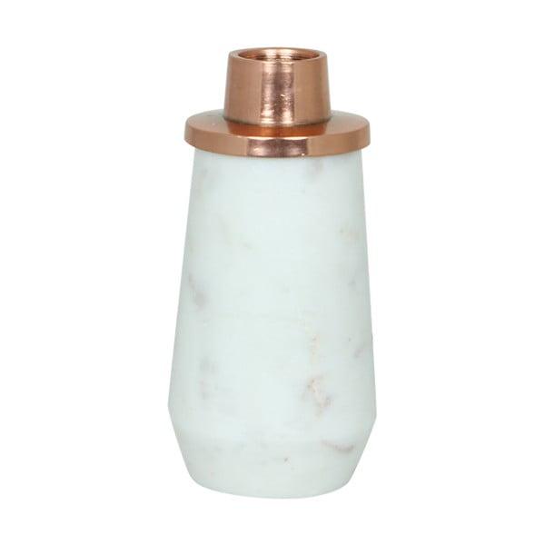 Stojan na svíčku White Copper, 10 cm