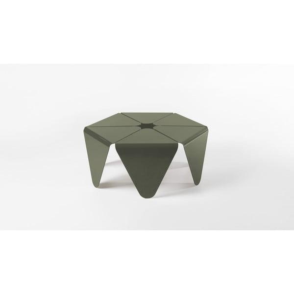 Kávový stolek Loto, tmavě šedý
