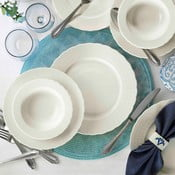 24dílná sada porcelánového nádobí Kutahya Something Blue