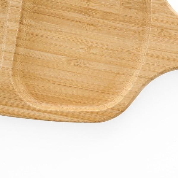 Tavă servire din lemn de bambus Bambum Mitta