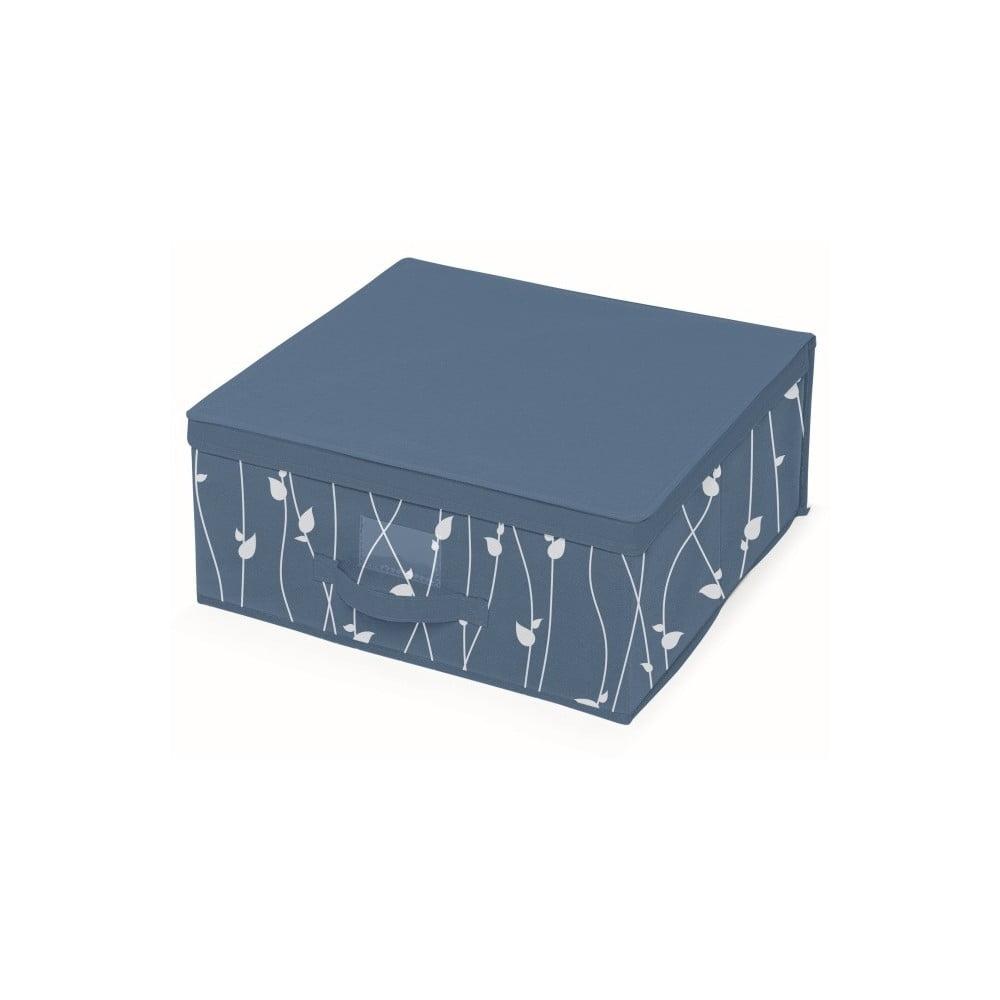 Modrý úložný box Cosatto Leaves, šířka 45 cm