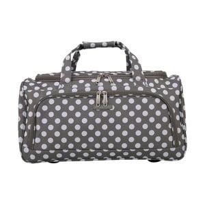 Šedé příruční zavazadlo Travel World, 36l