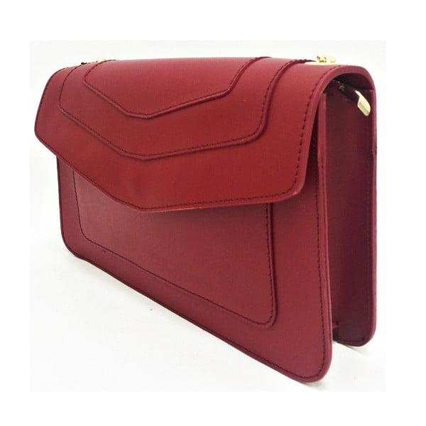 Kožená kabelka Joia Red