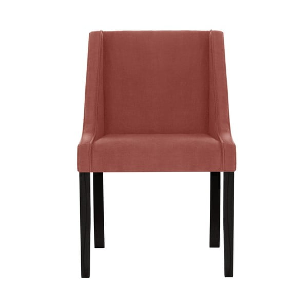 Broskvově růžová jídelní židle Guy Laroche Home Creativity