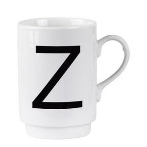 Porcelánový písmenkový hrnek Z