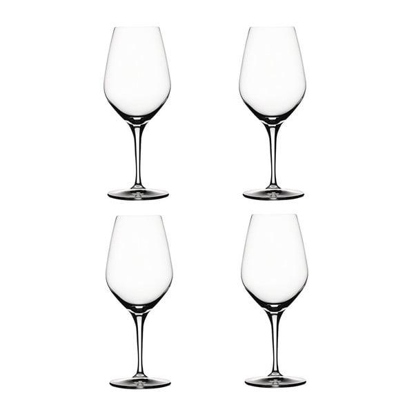 Set 4 sklenic na červené víno Red
