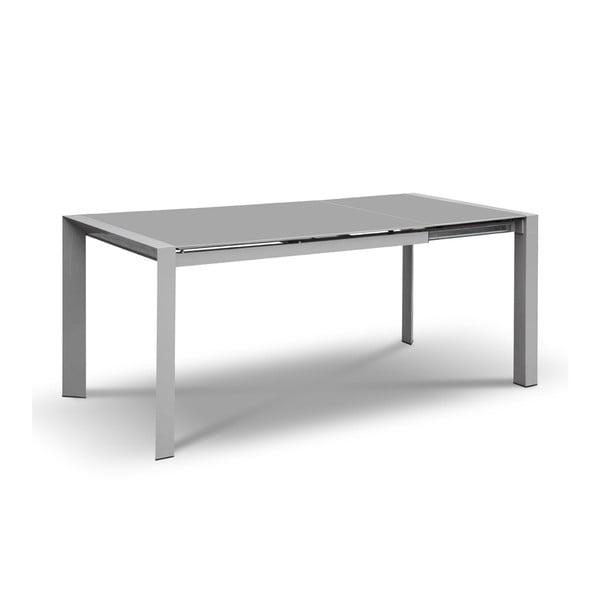 Rozkládací jídelní stůl Seller, 120-180 cm, šedý