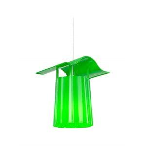 Lampadar suspendat pentru grădină Luciana, verde