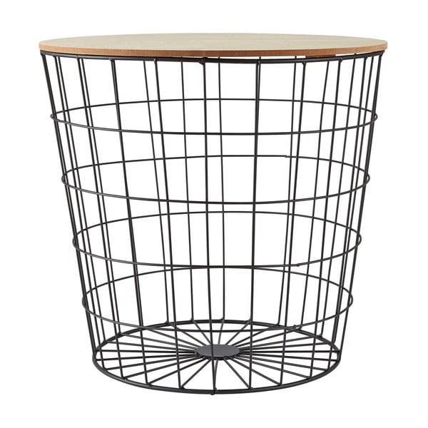 Mřížkovaný odkládací stolek Villa Collection, ∅ 49cm
