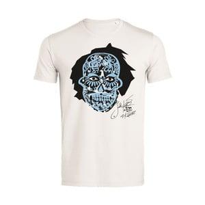 Pánské tričko s krátkým rukávem KlokArt Lebka, vel.L