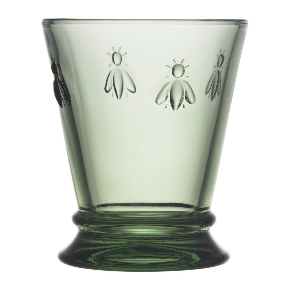 Zelená sklenice La Rochére Abeille, 260ml