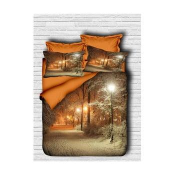 Lenjerie de pat cu cearșaf Marco, 160x220cm