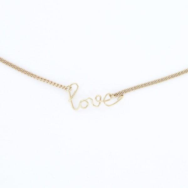 Náhrdelník Love Gold