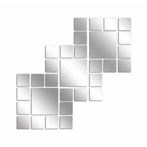 Dekorativní zrcadlo Illusion, 46x45 cm