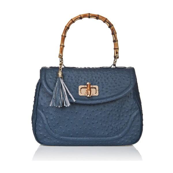Kožená kabelka Markese 7022 Blue