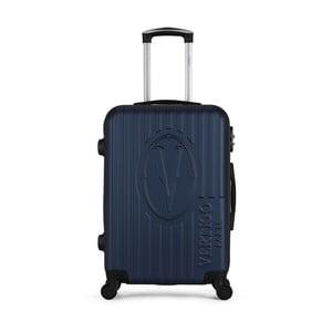 Tmavě modrý cestovní kufr na kolečkách VERTIGO Valise Grand Cadenas Integre Malo, 47 x 72 cm