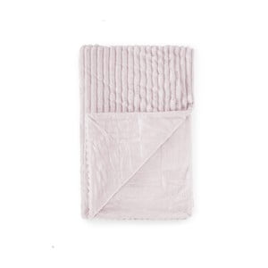 Růžová dětská deka Tanuki Rayas, 80x110cm