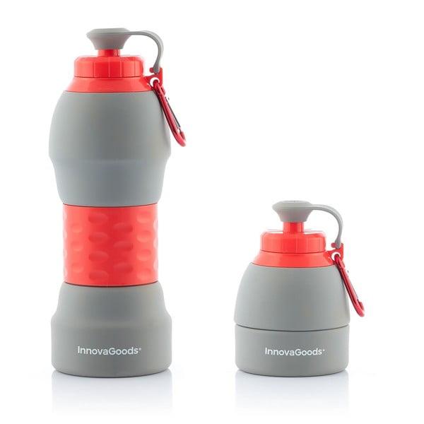 Összecsukható szilikon kulacs, 580 ml - InnovaGoods
