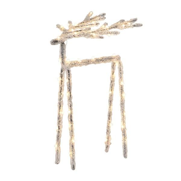 LED světelná dekorace Best Season Deer, výška 30 cm